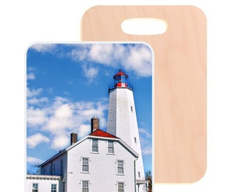 Sandyhook Lighthouse Luggage Tag