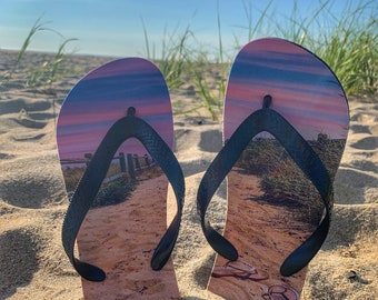 Life Is Beachy Flip Flops