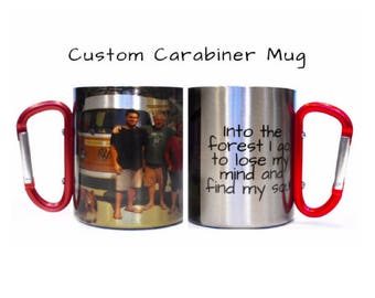 Personalized Mug, Birthday Gift For Men, Custom Mug, Campfire Mug