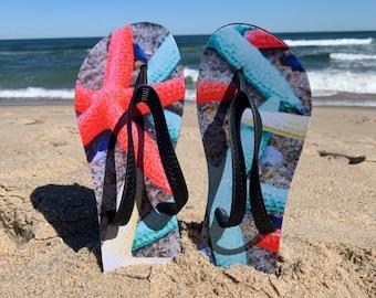 Starfish Flip Flops