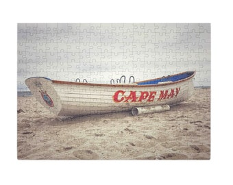 Puzzle & A Print : Cape May