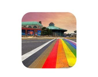 Rainbow Runway Magnet