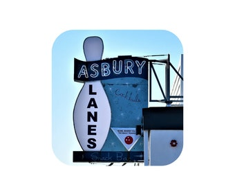 Asbury Lanes Magnet