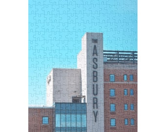 NEW Puzzle & A Print: The Asbury Hotel