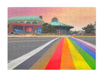 Puzzle & A Print: Rainbow Walkway