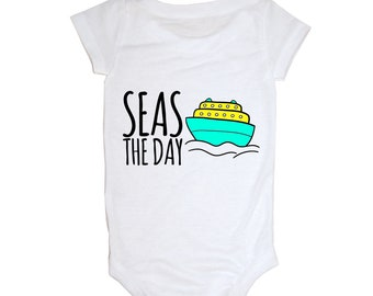 Seas The Day Baby Onesie