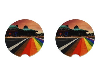 Rainbow Runway Car Coaster