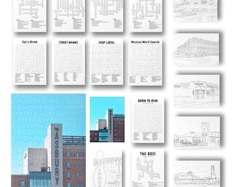 NEW Puzzle, Print, & Activity Kit + BONUS Downloadable coloring pages