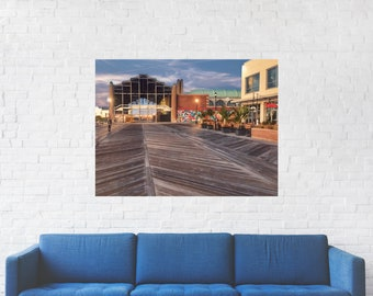 Asbury Park Casino Print on Metal