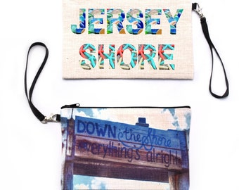 Down The Shore Wristlet