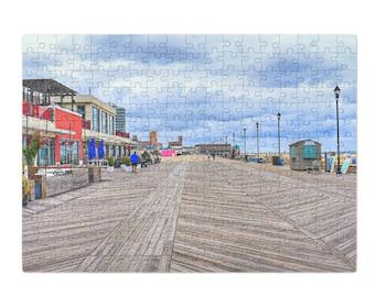 Puzzle & A Print : Asbury Park Boardwalk