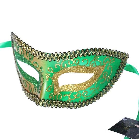 Aqua floral pvc Venetian Masquerade Mask for wedding home decor  8G5A  SKU: 6C41 parties dancing