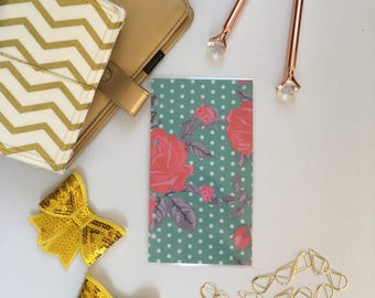 Personal Planner Dashboard For Filofax/ Floral