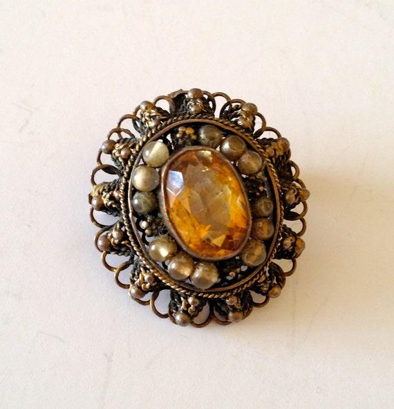 Antique Victorian Brooch,