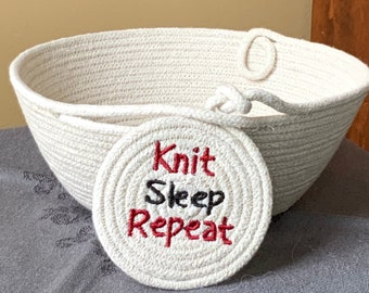 Yarn Bowls with a Message