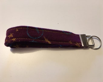 292ad4591e4 Wrap scrap key fob wristlet