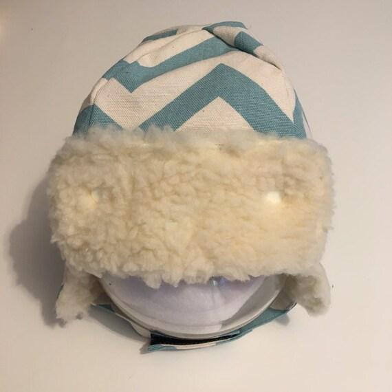 Baby winter hat with ear flaps aviator cap deerstalker hat  755b940c73c