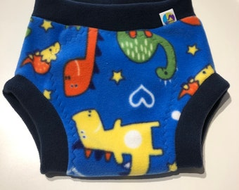 XXL fleece soaker, fleece nappy cover, reusable nappy cover, nappy wrap, cloth nappy cover