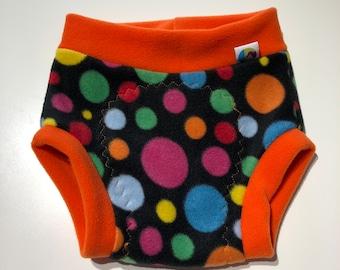 Large fleece soaker, fleece nappy cover, reusable nappy cover, nappy wrap, cloth nappy cover