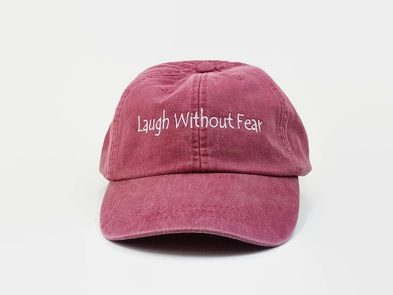 Dad Hats Embroidered Cap Hat Laugh Without Fear Baseball  f4df4976547e