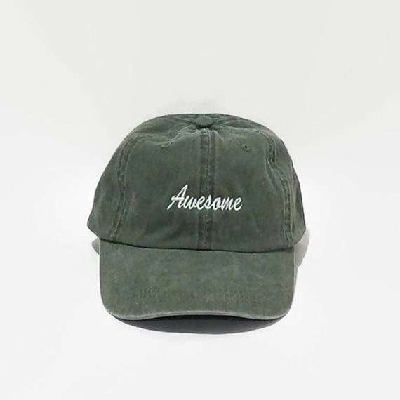 dae1775a8326b Awesome Dad Hats Embroidered Baseball Hat Women Baseball