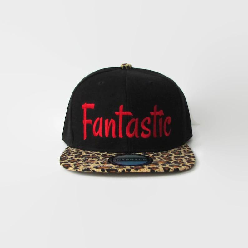 f85c72e231e331 Snapback Hat Vintage Baseball Hat Fantastic Black Snapback | Etsy