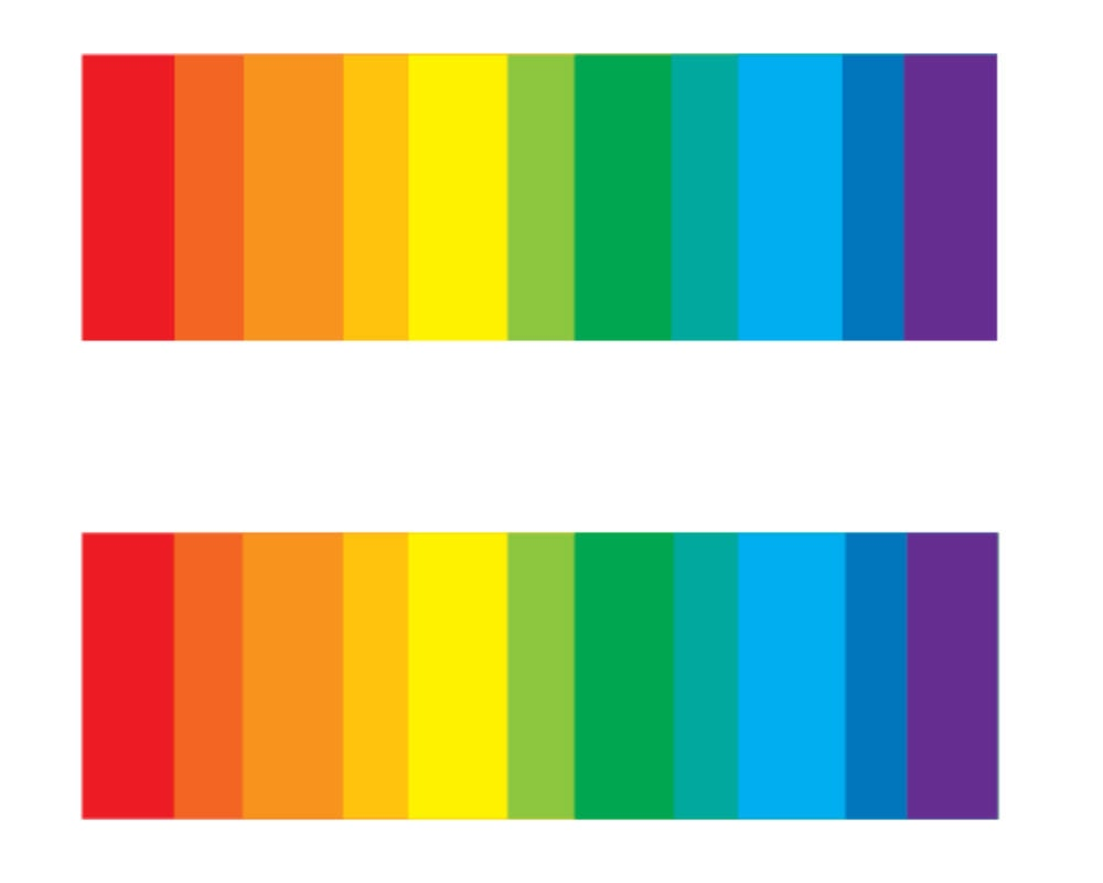 732f15e2ec83e LGBT Temporary Tattoo Gay Pride Tattoo Equality Bar | Etsy