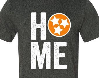 Tennessee Home flag shirt - orange