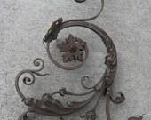18th Century Style Handmade Iron Wall Sconce