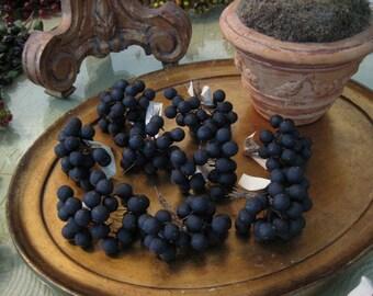 Vintage Millinery Blackberries