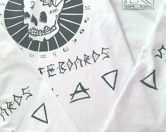 Hapi Lyfe T-Shirt Black on White