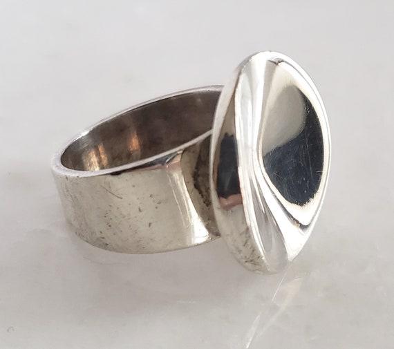 Georg Jensen Sterling Silver Ring Denmark