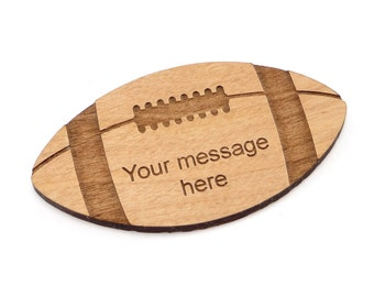 22 Football Tags (no personalized message)