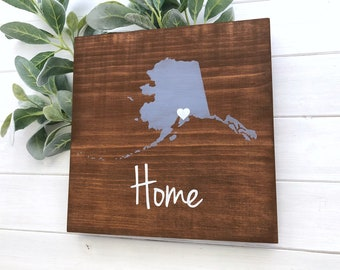 Swell Alaska Home Decor Etsy Home Interior And Landscaping Ologienasavecom