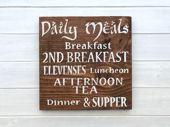 Breakfast Sign, Choose Colors, Kitchen signs, kitchen decor, food signs,  rustic kitchen, menu sign, kitchen sign, rustic decor