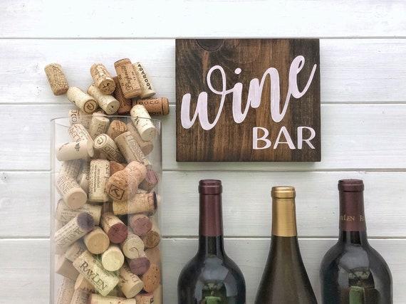 Wine sign | Wine gift | Wine Bar Decor | Wine bar sign | Kitchen signs |  Kitchen gift | Wine decor | Farmhouse kitchen | Host Gift