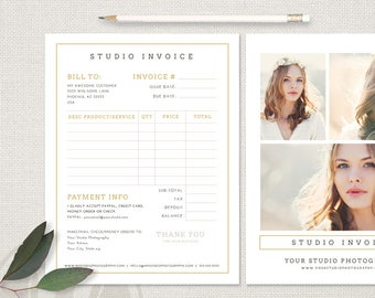 photography invoice photography invoice template photography invoice form photographer invoice instant download invoice form template