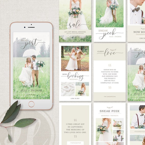 Wedding instagram story post templates | psd free download pikbest.