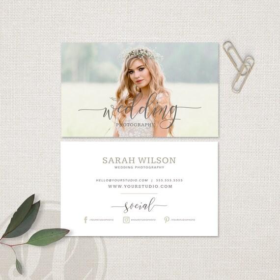 Hochzeit Fotografie Visitenkarte Hochzeit Fotograf Visitenkarte Instant Download Photoshop Vorlage Für Fotografen