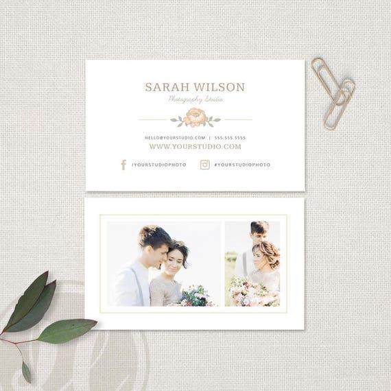Fotografie Visitenkarte Hochzeit Fotografie Visitenkarte Vorlage Sofortiger Download Photoshop Vorlage Für Fotografen Visitenkarte