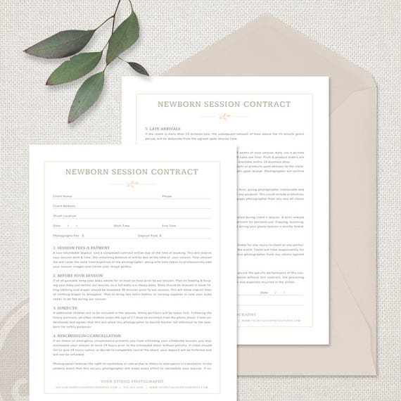 Forms | maternity photography contract template – theearthe.