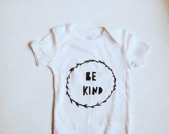 Baby Bodysuit- Be Kind