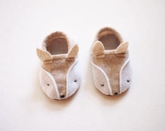 Baby Corsac Fox Shoes