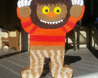 wild things pinata etsy