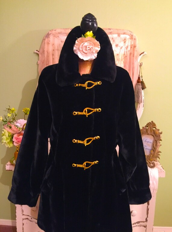 XL Marie Coat Size Fur Faux Dark John Luxury Gray Plus St Womens Coat Brown Fur Winter Coat Faux EzgqOwnxZ
