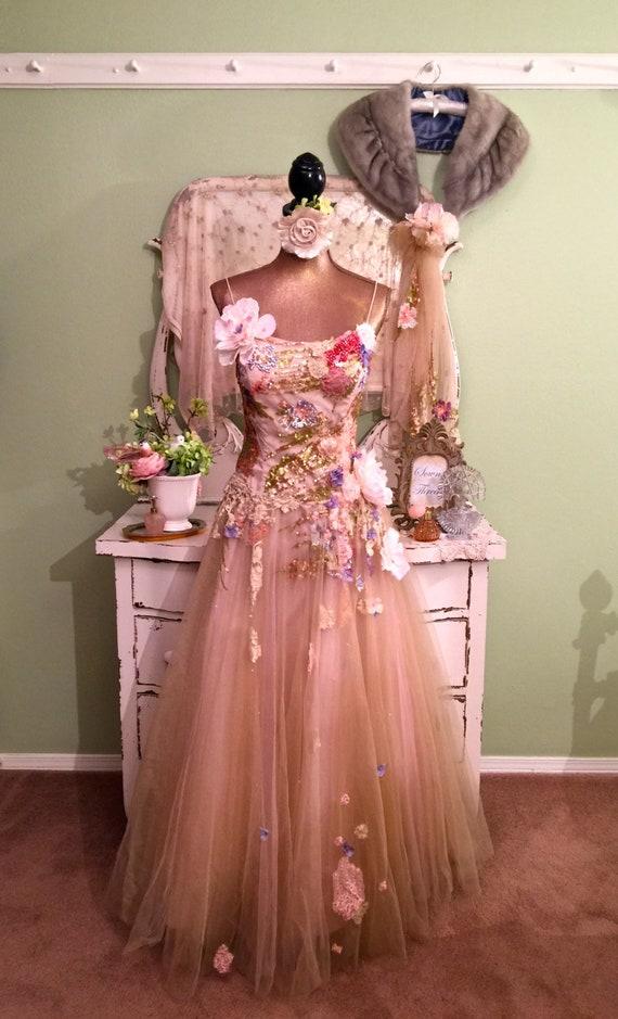 Women\'s Fairy Dress Alternative Wedding Gown Art To Wear | Etsy