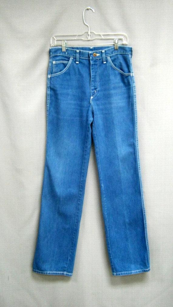 25.5 Vintage 70s WIDE Flare SLACKS by Bobbie Brooks High Waist Loud PLAID Elephant Bells Bellbottoms Pants w