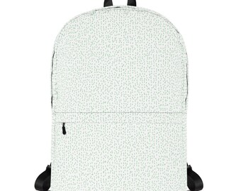 Mint Green Irregular Patterned Backpack f34a5cc398bc0