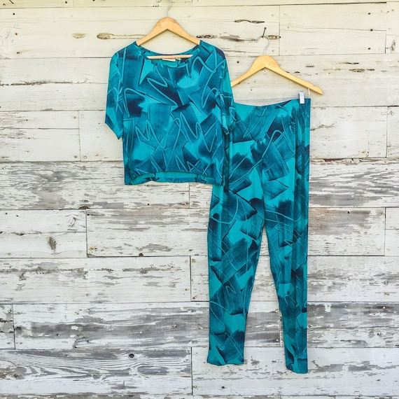 90's matching abstract set • M / L