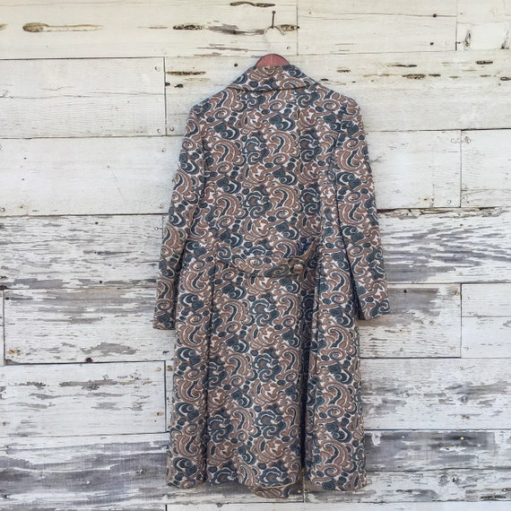 60's psychedelic swirl jacket • S / M / L • abstr… - image 4